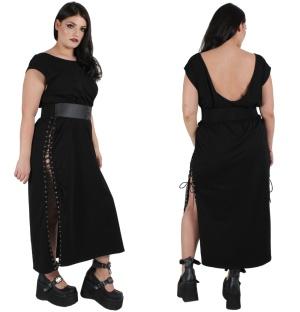 Shirt Dress Gothic Plussize