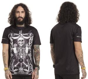 Männer T-Shirt Muerte Tarot Jawbreaker