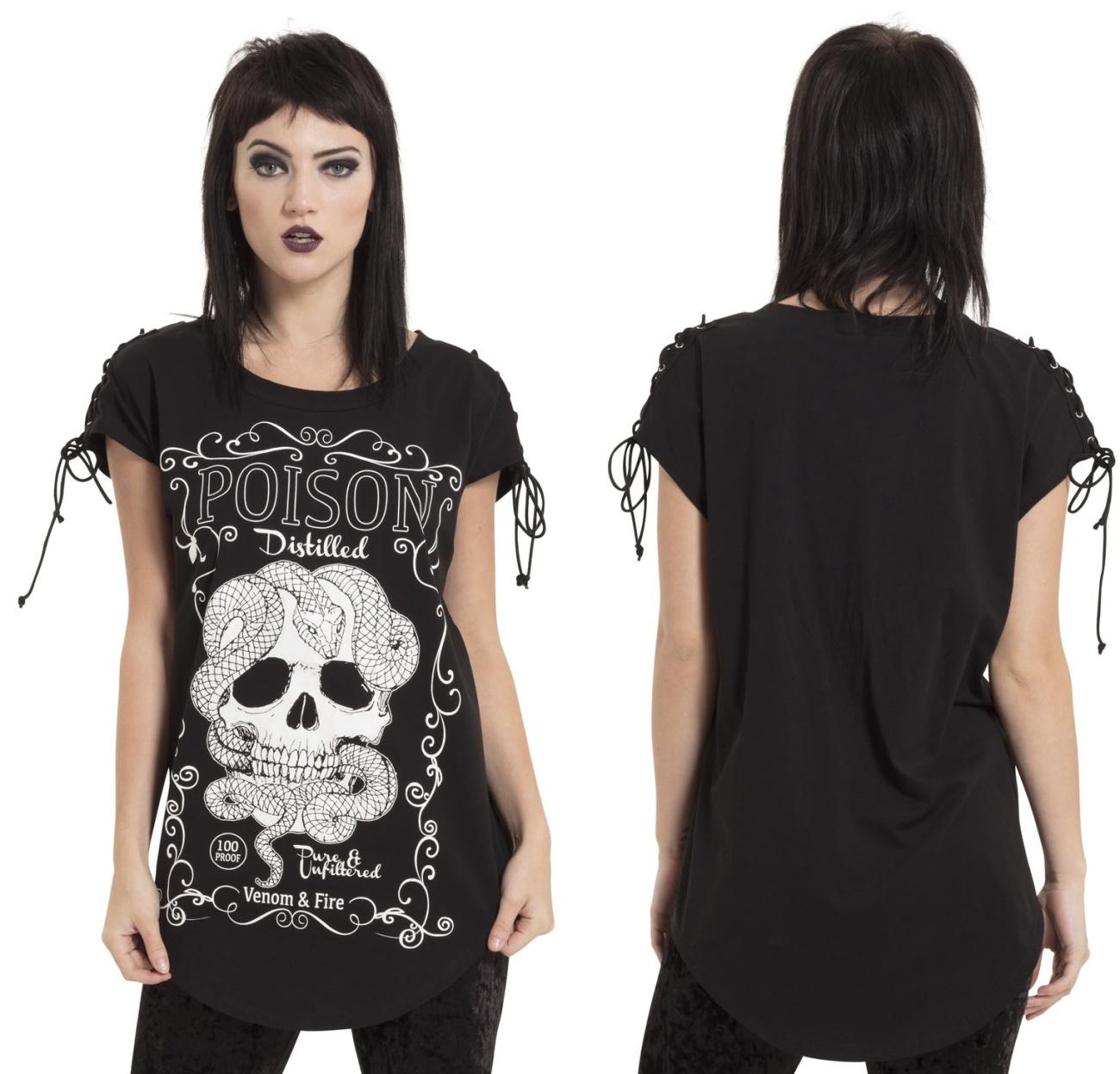 poison rocker tshirt jawbreaker