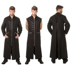 Herren Mantel Gothic Dead Threads