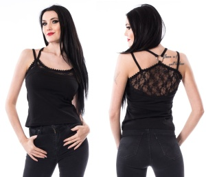 Llona Top Heartless Gothic Spitzen Top