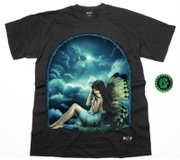 Tshirt Glow in the Dark Elfe