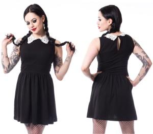 Maiju Dress Chemical Black Wednesdaykleid