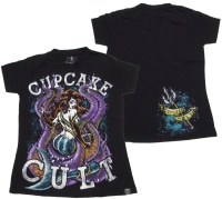 Girl Tshirt Comicmotiv Mermaid Cupcake Cult
