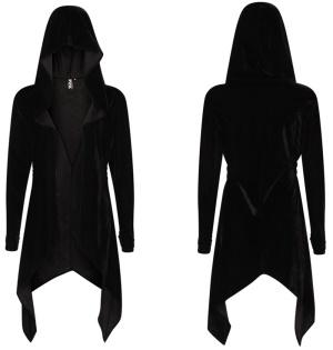 Gothic Samtjacke/ Samtmantel Necessary Evil