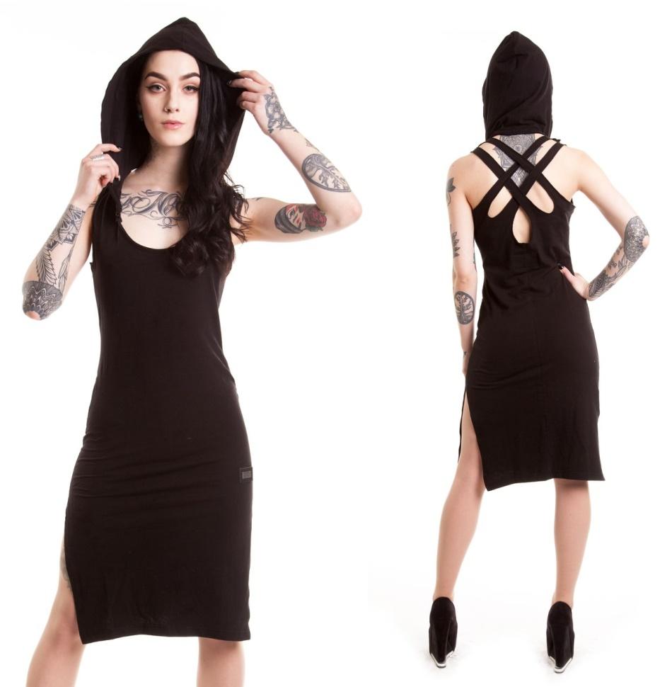 Kleid Nocturnal Vixxsin - Vixxsin Kleider - Details - Gothic Shop ...