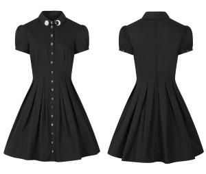 Gothic Kleid Sonne&Mond