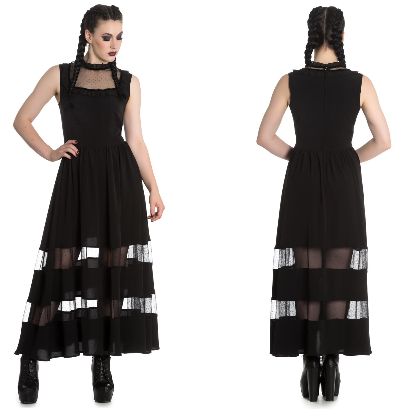 Bellatrix Maxi Dress Gothic Kleid Spin Doctor - Spin Doctor Kleider ...