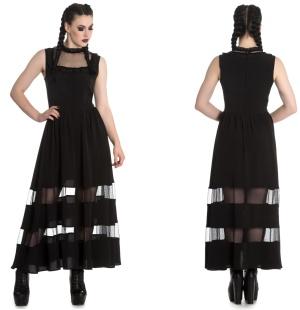 Bellatrix Maxi Dress Gothic Kleid Spin Doctor