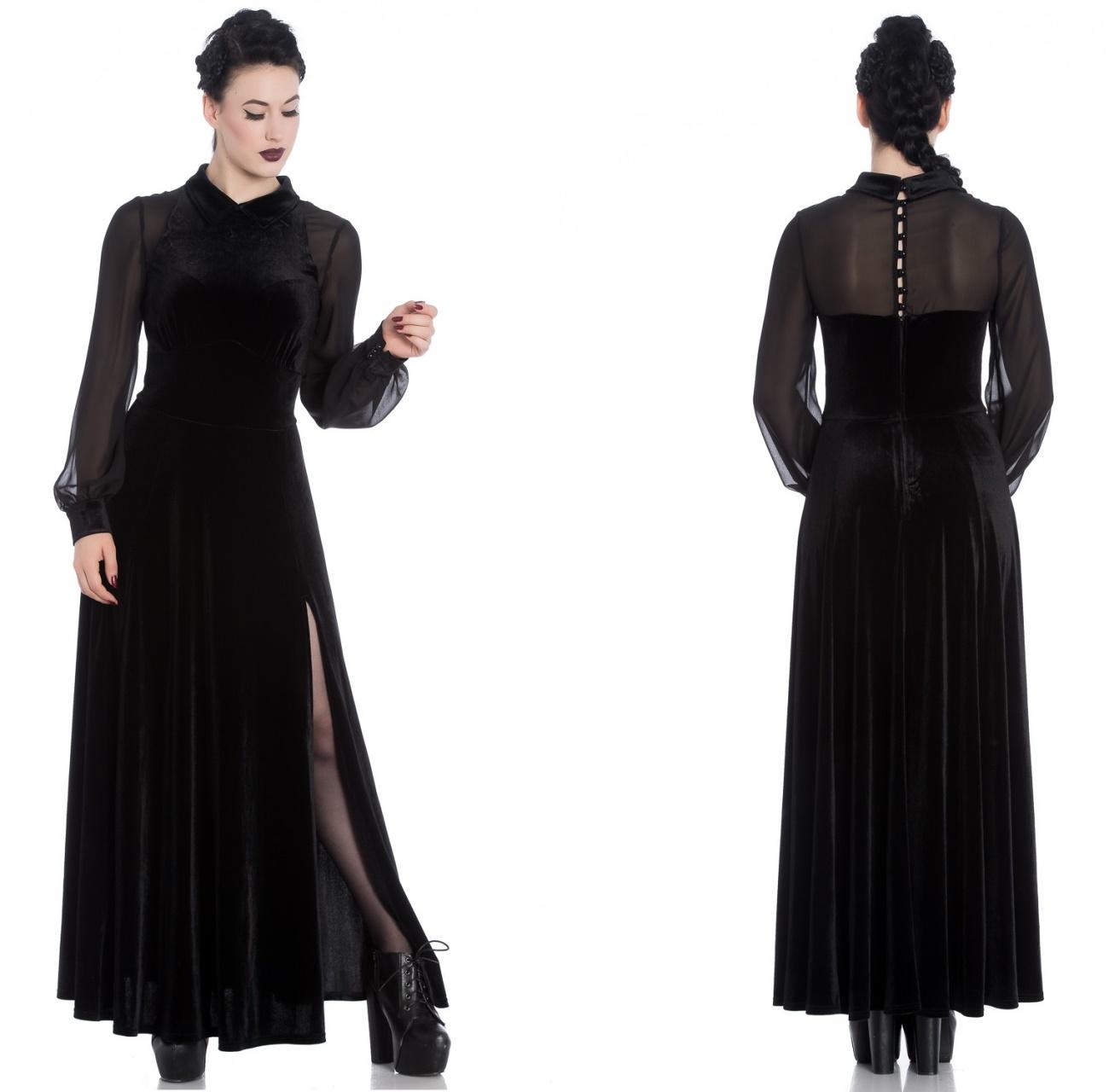 Estelle Dress Spin Doctor Langes Gothickleid bis Plussize - Spin ...