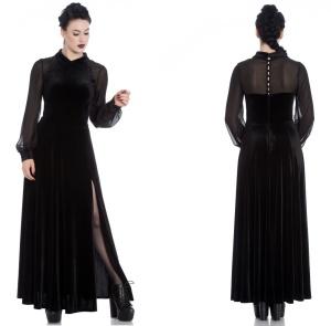 Gothic kleid lang xxl