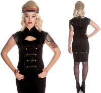 Black Watch Top Hellbunny