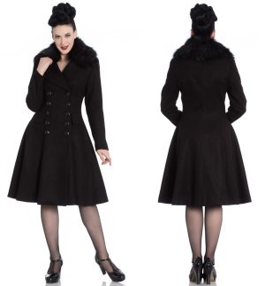 Uniform Mantel in Wolloptik Milan Coat Hellbunny