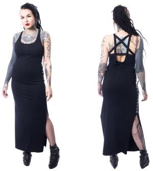 Maxi Dress Pentagramm Heartless
