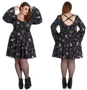 Taxidermy Dress Gothickleid Plussize Spindoctor