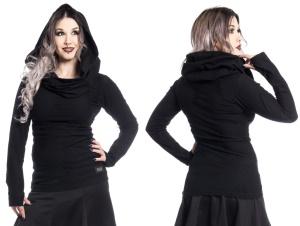 Shirt Purity Pullover mit Schalkragen Vixxsin
