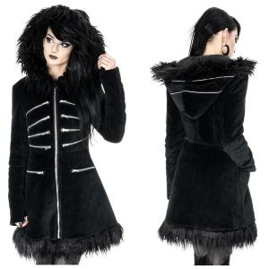 BLAK PIXIE COAT Velvet Winterjacke Restyle
