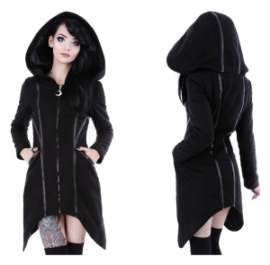 Assassin Coat Damen Wintermantel Winterjacke im Gothicstil Restyle