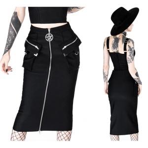 Pencil Skirt Pentagramm