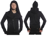 Herren Kapuzenjacke Hoodie Run for Life Vixxsin