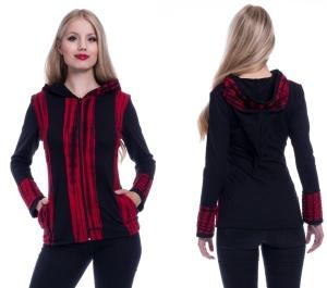 Samila Hood Batikjacke mit Zipfelkapuze Innocent Clothing