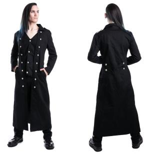 Mantel mit eingearbeiteter Weste Vixxsin