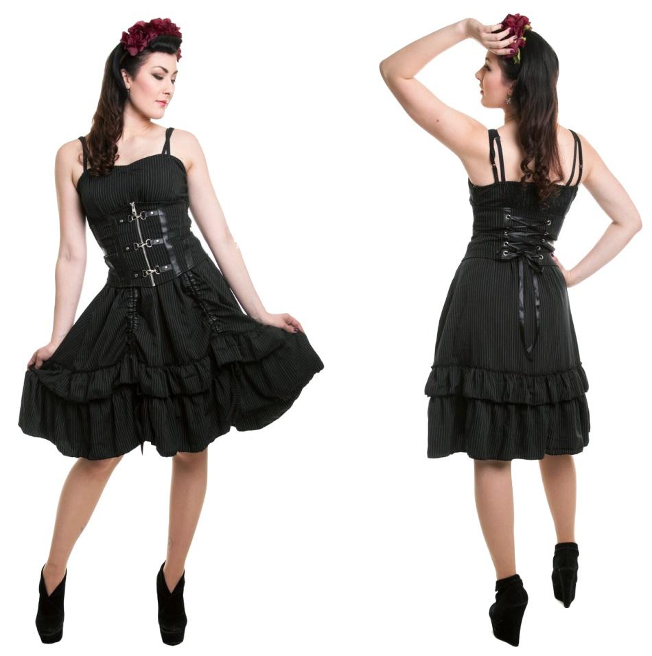 Kleid mit Korsage Siren Vixxsin - Vixxsin Kleider - Details - Gothic ...