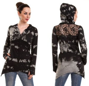 Batikjacke/Sunset Hood Innocent Lifestyle