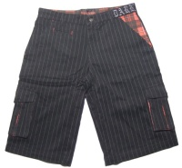 Herren Short pinstripe Queen of Darkness