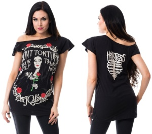 Girlshirt Torture of Shoulder Heartless