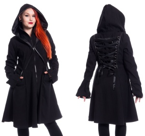 Damenmantel im Gothicstil Twilight Coat Poizen Industries