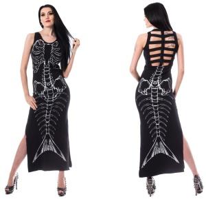 Maxikleid Mermaid Venla Dress Heartless