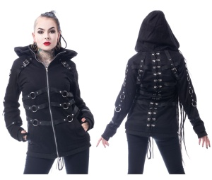 Gothicjacke Vivien Jacket Chemical Black