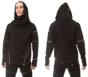 Herren Sweatshirt Voyage Hood Vixxsin