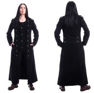 Herren Mantel Samt Walker Coat Vixxsin