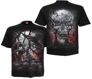 T-Shirt Dark Roots Spiral