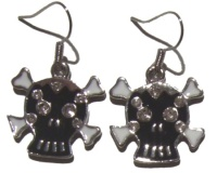 Ohrhänger Totenkopf