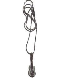 Halskette Gitarre Totenkopf