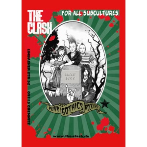 Aufkleber The Clash For all Subcultures Punk Gothics Rock N Roll - gratis