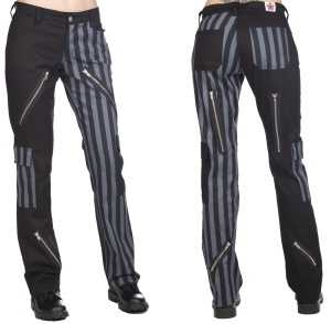 Karo Hose Freak Pant Black Pistol