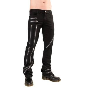 Punkhose Zip Pant Black Pistol