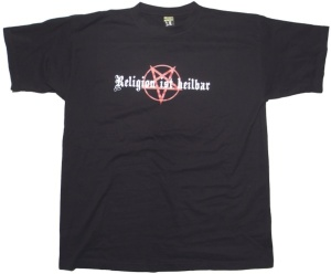 T-Shirt Religion ist heilbar