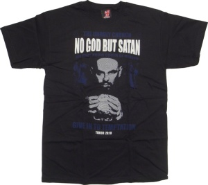 Tshirt Toxico No God But Satan