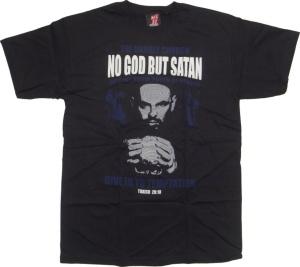 Tshirt Toxico No God But Satan