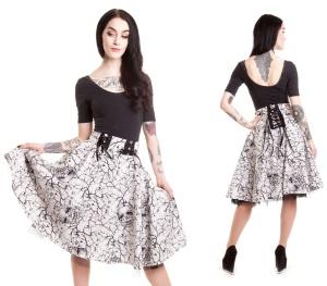 Aurora Skirt Vixxsin Tellerrock Rockabilly Rock
