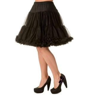 Petticoat schwarz Banned