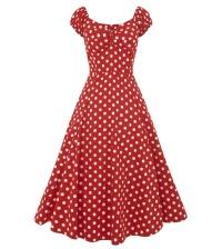 Petticoatkleid/Rock n Roll Kleid Dolores Doll gepunktet Collectif