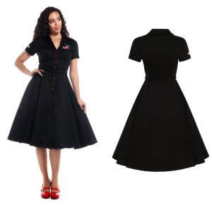 Swing Kleid True Love Collectif