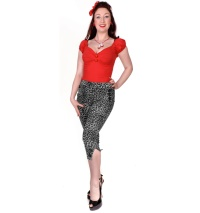 Caprihose Leopard/Rockabilly Hose Collectif