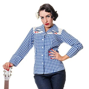 Rockabilly Bluse Westernbluse Joni Collectif